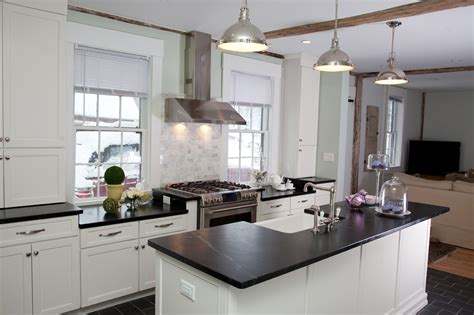 Soapstone Countertops Nh by Historical Renovation For Kitchen In Derry Nh New