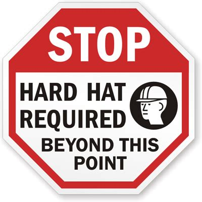 printable hard hat area sign hard hat area sign stop hard hat required beyond this