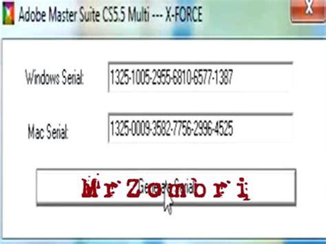 5 serial number cs5 5 master collection serial number generator mac