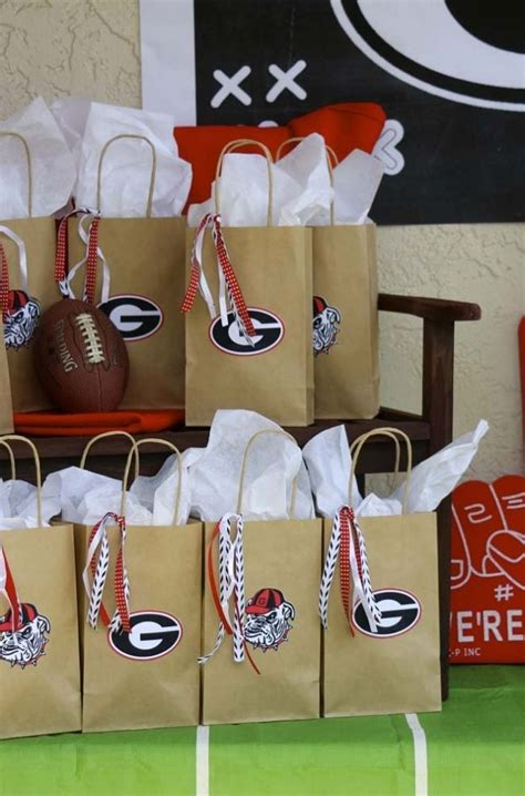 Football Party Favor Bags Pictures Photos And Images For