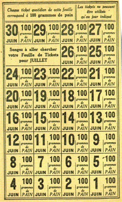 Tickets De Rationnement les 25 meilleures id 233 es concernant rationnement sur