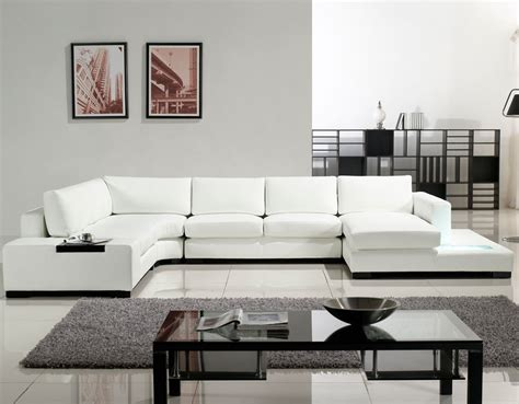 Tosh Furniture Modern Sectional Sofa Tosh Furniture Modern White Leather Sectional Sofa Thecreativescientist