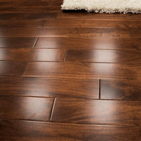 Solid Walnut Flooring by Wood Plus Stained Lacquered 18x93mm Solid Walnut