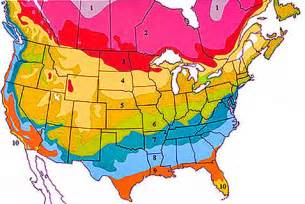 Landscape Zones Usa Usda Hardiness Zone Finder