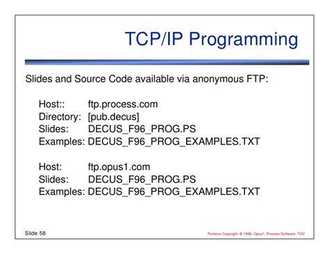 ip programming programming tcp ip with sockets