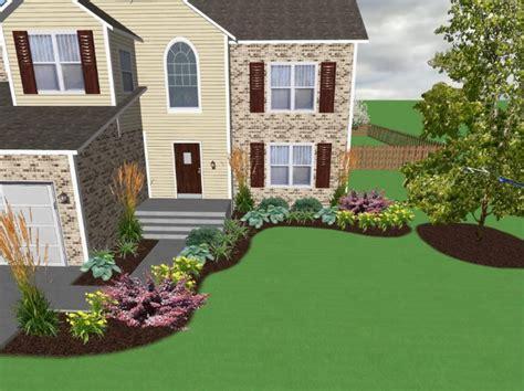 house plans with landscaping landscaping ideas for front of house need a critical eye
