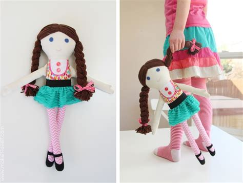 How To Make Handmade Dolls - boy fabric dolls