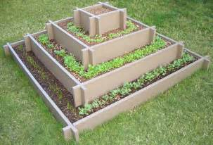 pyramid garden bed for herb garden from ciliberto s woodworking