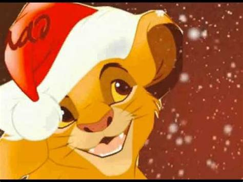 lion king christmas sing song