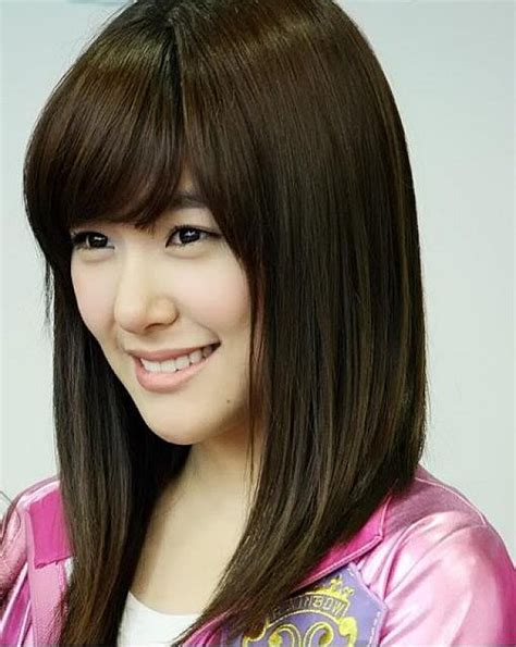 model gaya rambut pendek sebahu wanita korea model