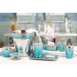 blue mosaic bathroom accessories silver mosaic bathroom set brightpulse us
