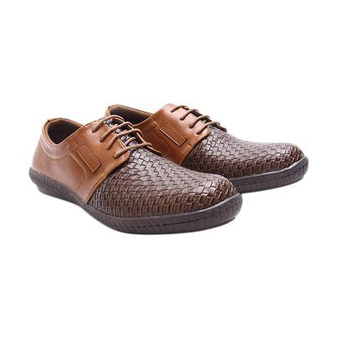 Sepatu Pria Terbaru Casual Brown Mfkh Leather jual dr kevin leather 13302 sepatu pria brown harga kualitas terjamin blibli