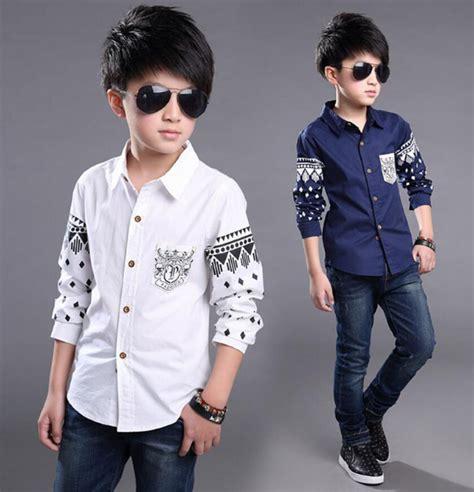 Kemeja Anak Laki Laki Fashion Anak Baju Anak Kemeja Anak model kemeja naka laki laki terbaru 2018 info kebaya modern