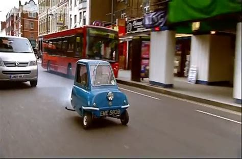 Smallest driving the smallest car in the world video