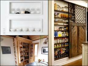 How To Organize Food In Kitchen Cabinets 10 unique storage ideas for your tiny house living big
