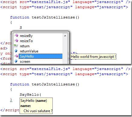 librerie javascript javascript e ajax guida visual studio 2008 net html it