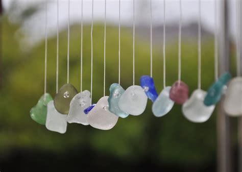 crafty diy wind chimes  garden glove