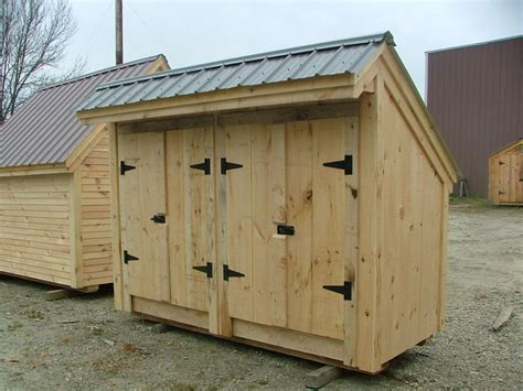garbage shed 4x10 diy plans garbage storage home
