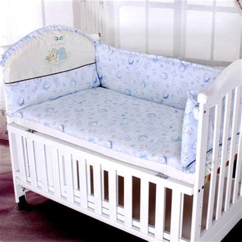 Bumper Sets For Cot Beds Baby Beding Bumper Set Bed Around Fancy 110x60cm Cotton Washable Baby Cot Bedding Bumper