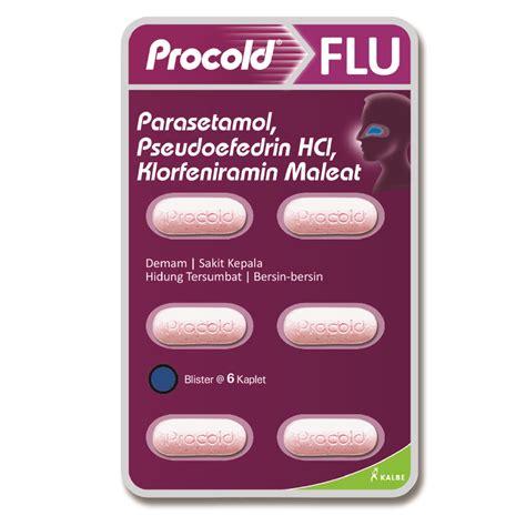 Procold Flu Batuk 6 Kaplet kalbe obat flu procold blister 6 tablet apotek 12