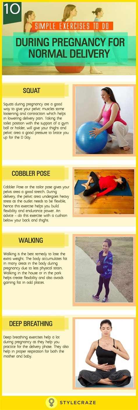 10 simple exercises to do during pregnancy for normal delivery exercise pregnancy and health