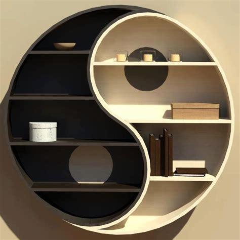 yin yang bookshelf yin yang