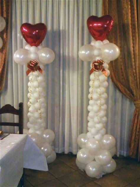 imagenes html columnas torres y columnas de globos decoraci 243 n con globos