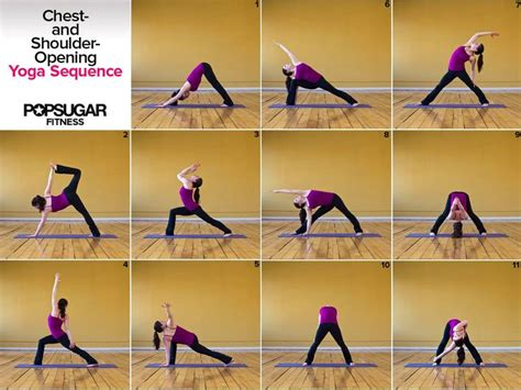 chest shoulder opening yoga sequence yoga sequences