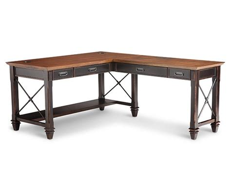 hartford double pedestal desk furniture row