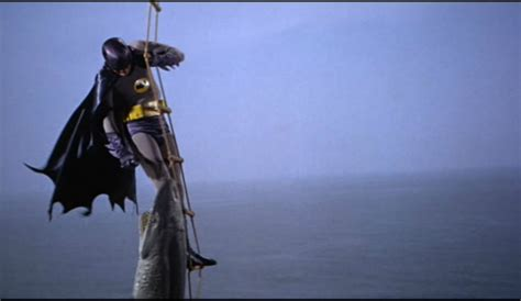 remember that time when batman fought off sharks with
