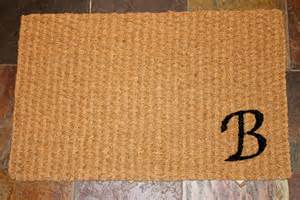 diy welcome mat the of momma b