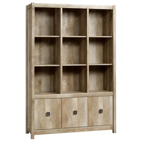 Sauder Bookcases Sauder Beginnings Collection 35 In 3 Shelf Bookcase In Highland Oak 413322 The Home Depot