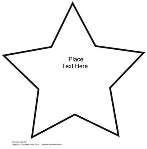 best photos of cut out star template star cut out