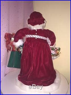 holiday creations santa doll for sale creations by antoinette digregorio santa claus doll figurine decor world