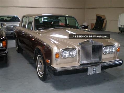 1978 two owner rolls royce silver shadow that looks as