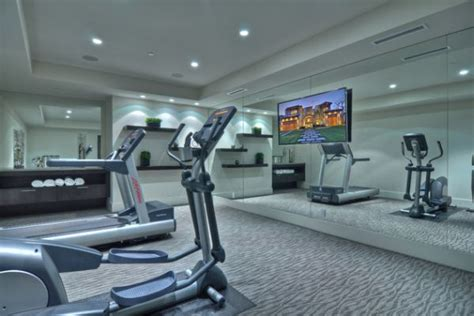 home gym lighting design decorating a home gym in a contemporary style