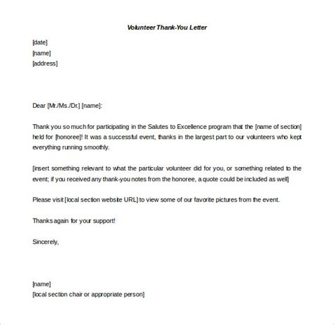 free thank you letter template free thank you letter templates 49 free word pdf