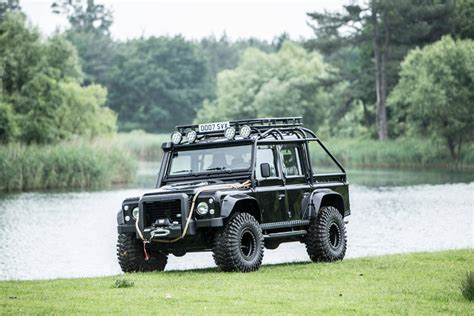 land rover defender svx the bond quot spectre quot land rover defender svx