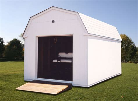 10 X 16 Storage Shed by 10 X 16 White Dutchman Storage Shed D 5 Portable Buildings Inc Milford De