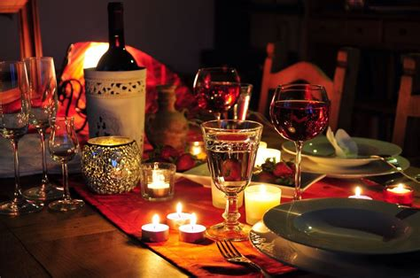 romantic dinner romantic dinner to surprise your love one how ornament