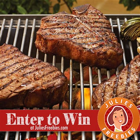 Omaha Steaks Gift Card Target - win a father s day omaha steak t bone prize package julie s freebies