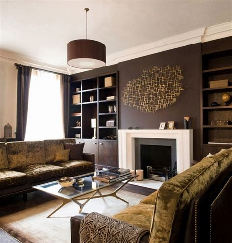 Brown Living Rooms by Living Room Interior Design Ideas Browns Are Modern