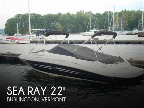fishing boat for sale vermont for sale used 2008 sea ray 220 sun deck in burlington