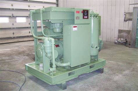 Chion Rotorch Rotary Air Compressor by Sullair Ls20 100 100 Hp Rotary Air Compressor Ebay
