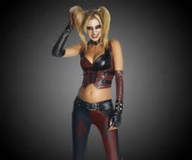 Harlequin Halloween Costumes Adults Harley Quinn Costume Halloween Batman Arkham