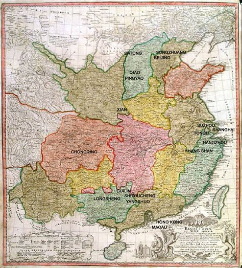 map of ancient china china ancient map