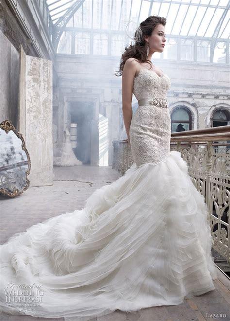 lazaro wedding dresses spring 2012 wedding inspirasi