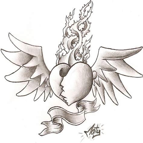 imagenes de corazones con alas y espinas corazones con alas y espinas colorear website