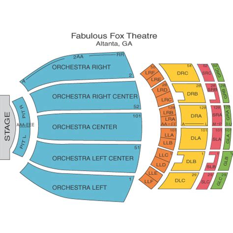 fabulous fox seating jersey boys may 27 tickets atlanta fabulous fox theatre