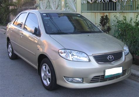 toyota philippines vios 2003 introductions